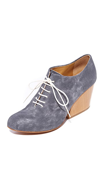 Coclico Shoes Bea Block Heel Oxfords