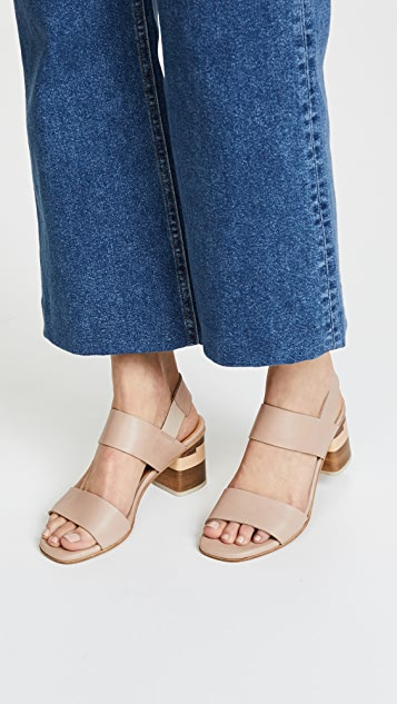 17e625223 ... Coclico Shoes Bask Block Heel Sandals ...