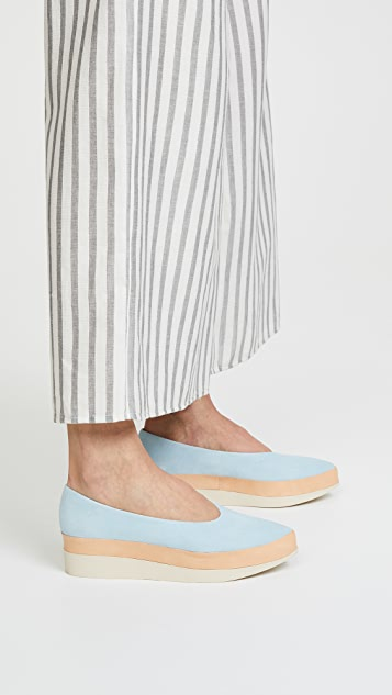 Coclico Shoes Perl Platform Flats