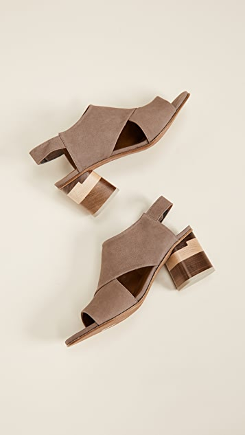 Coclico Shoes Big Easy Block Heel Sandals
