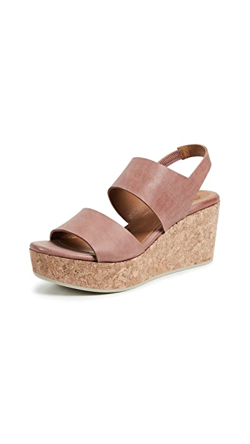 Coclico Shoes Glassy Platform Sandals