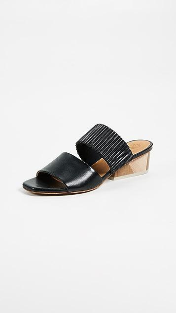 Coclico Shoes Ooh La La Block Heel Mules