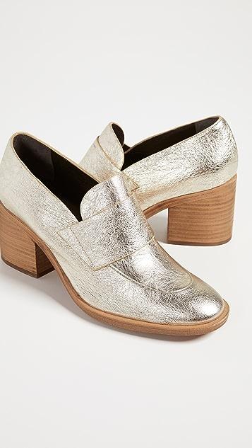 Coclico Shoes Bellatrix Block Heel Loafers