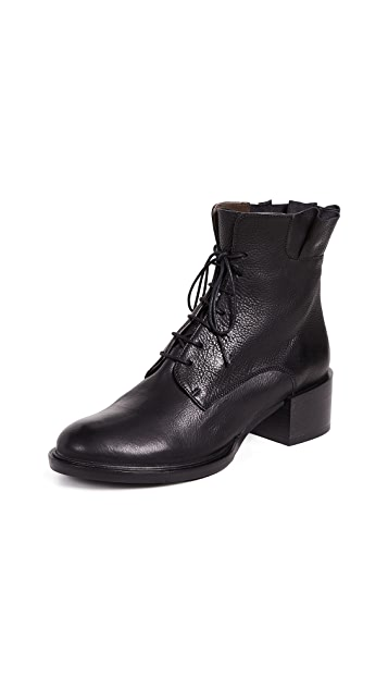 Coclico Shoes Mansi Lace Up Booties