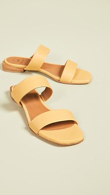 Coclico Shoes Carano Double Strap Slide Sandals