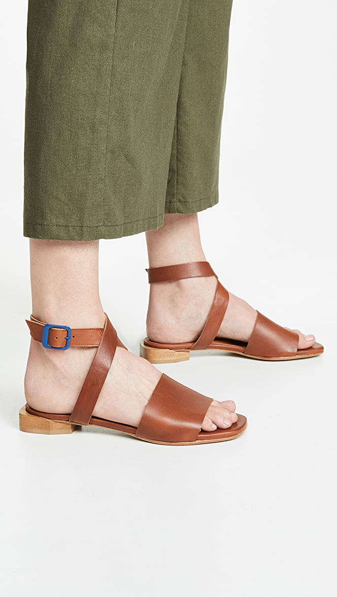 Cooper Strappy Sandals by Coclico Shoes
