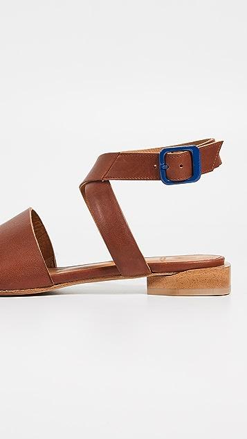 Coclico Shoes Cooper 绑带凉鞋
