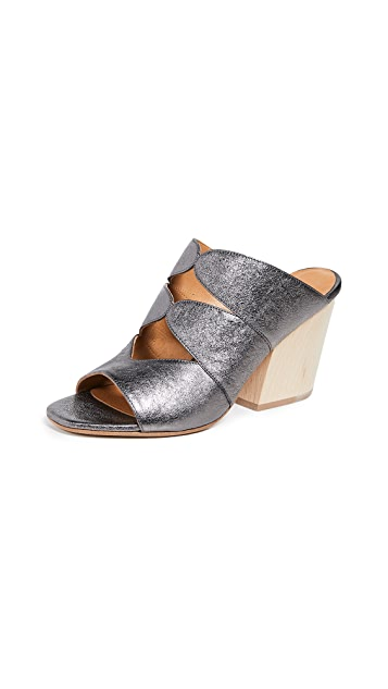 Coclico Shoes Tampico Block Heel Mules
