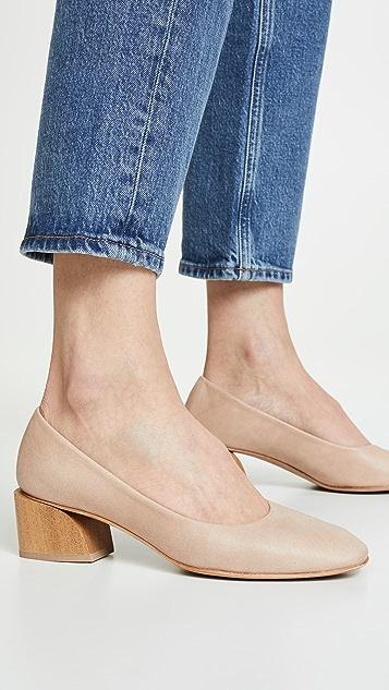 Coclico Shoes Туфли-лодочки Epice на толстом каблуке