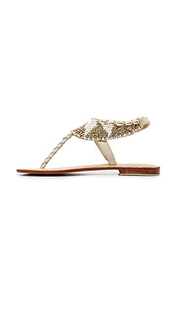 Cocobelle Maui Beaded Sandals