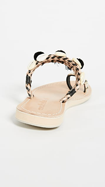 Cocobelle Kopi Toe Ring Sandals