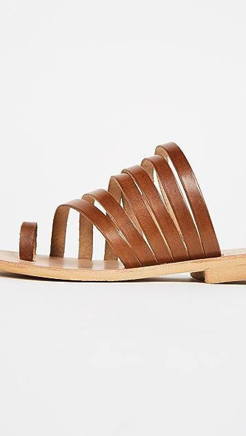 Cocobelle Palermo Strappy Slides
