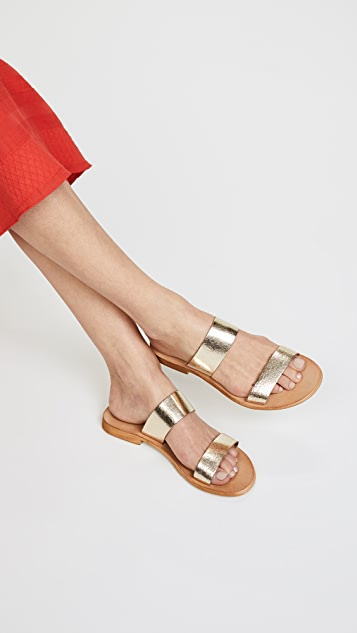 1c10aa638 Cocobelle Leather Slide Sandals  Cocobelle Leather Slide Sandals ...