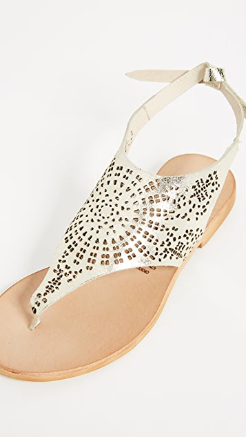 Cocobelle Tye Perforated Sandals