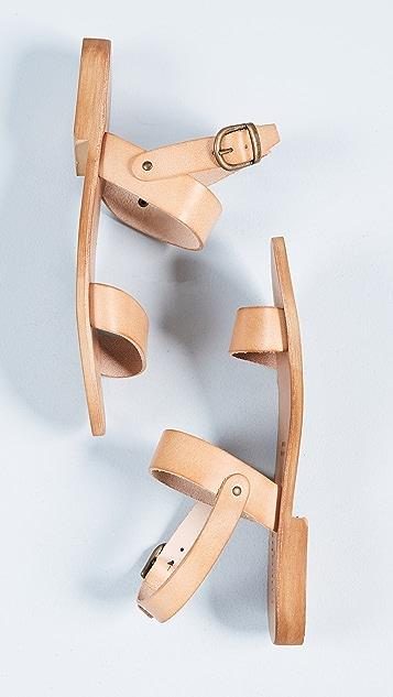 Cocobelle Kiki Ankle Strap Sandals