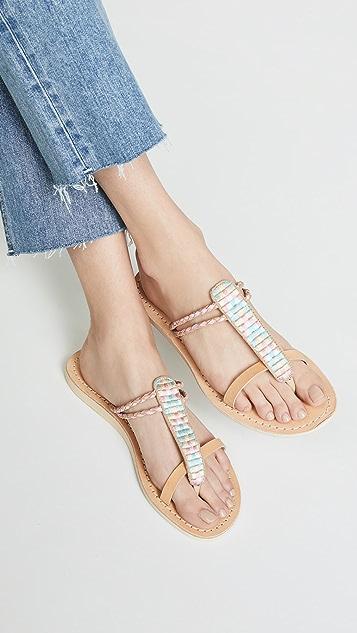 Cocobelle Cali Geometric Sandals