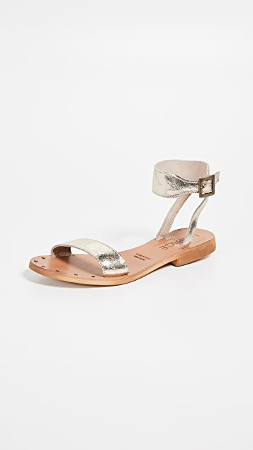 Cocobelle x L*Space Hanalei 凉鞋
