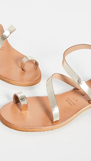 Cocobelle Crescent Strappy Sandals