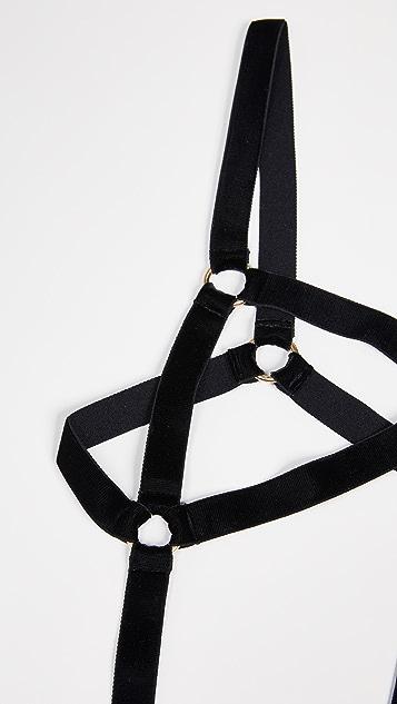 Coco de Mer Persephone Open Bodysuit