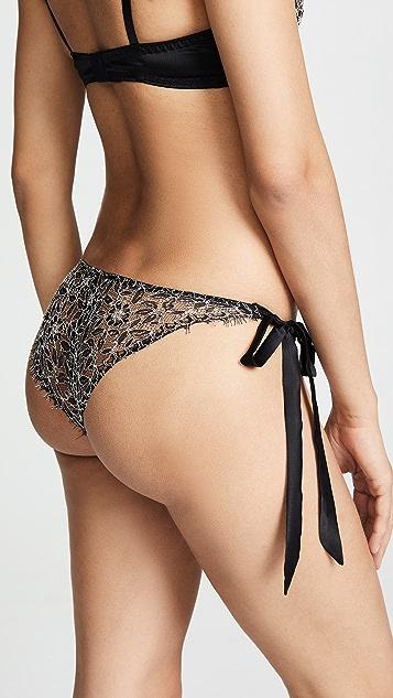 Coco de Mer Hematite 侧绑带短内裤