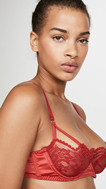 Coco de Mer Scarlett Balcony Push-Up Bra