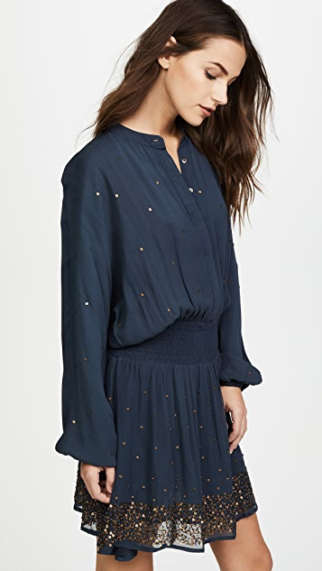 Chloe Oliver Cascade Drop Waist Dress