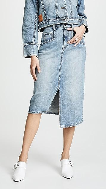 Colovos Vintage Pencil Skirt