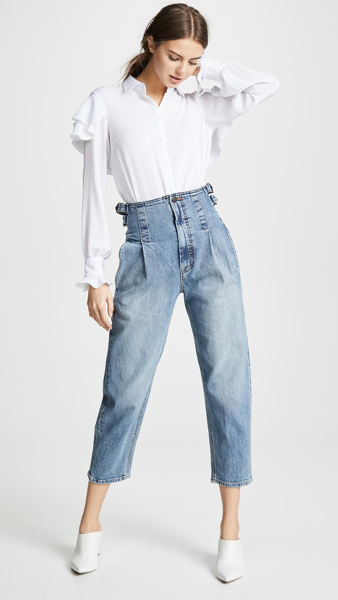 Colovos Vintage Buckle Pants
