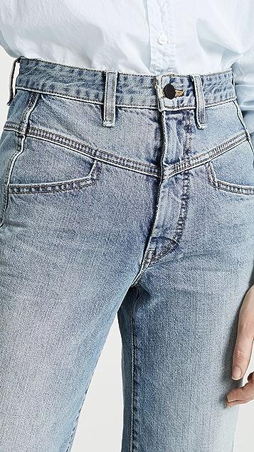 Colovos 复古牛仔裤