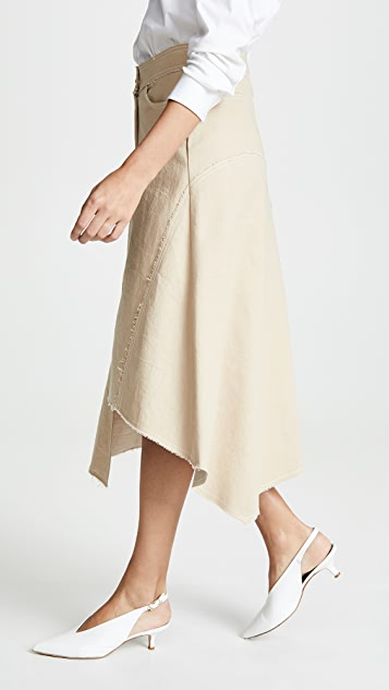Colovos Seamed Skirt