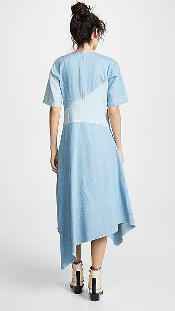 Colovos Seamed Dress