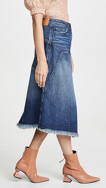 Colovos 接缝半身裙