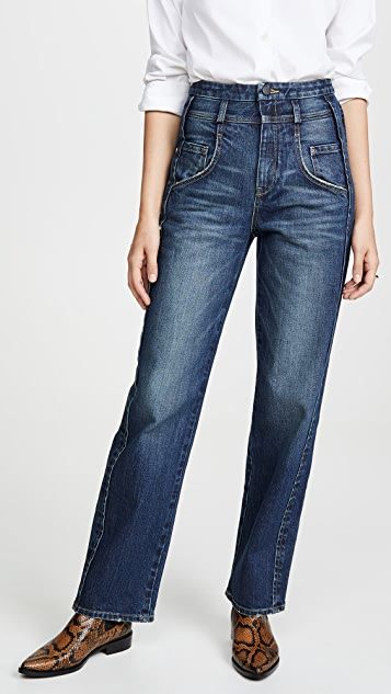 Colovos Side Panel Jeans