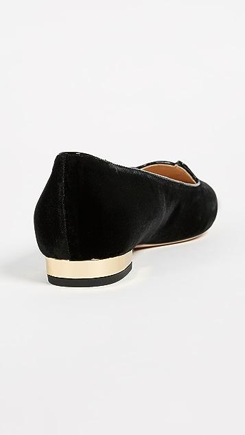 Charlotte Olympia 猫咪平底鞋