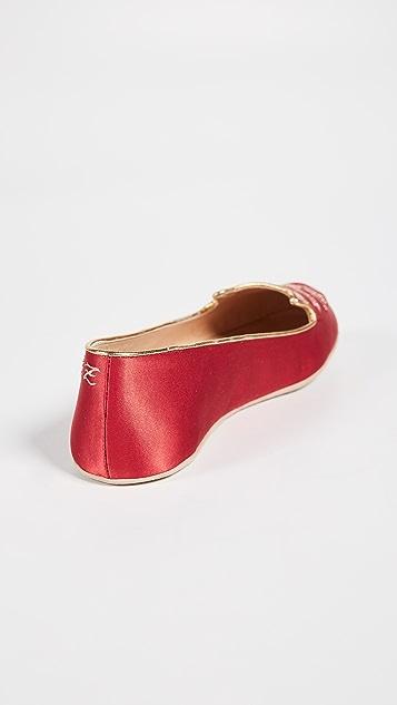 Charlotte Olympia Cat Nap 拖鞋套装