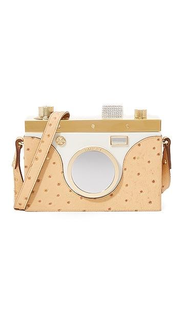 Charlotte Olympia Nostalgia Camera Shoulder Bag