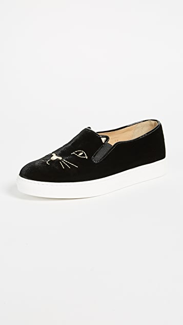 Charlotte Olympia 酷炫猫咪运动鞋