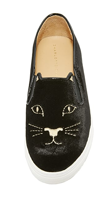 Charlotte Olympia Cool Cats Sneakers