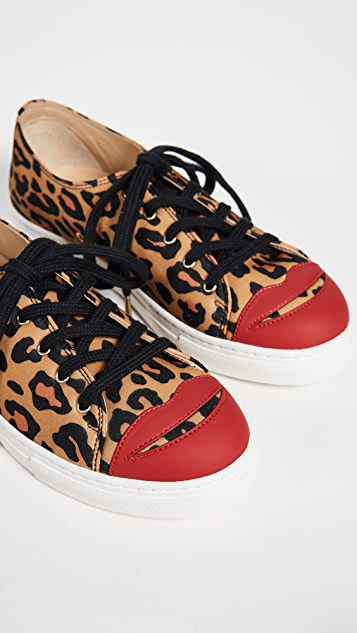 Charlotte Olympia Kiss Me Sneakers