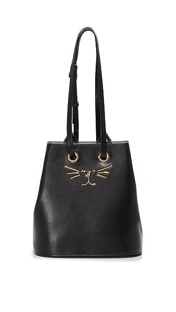 Charlotte Olympia Feline Bucket Bag
