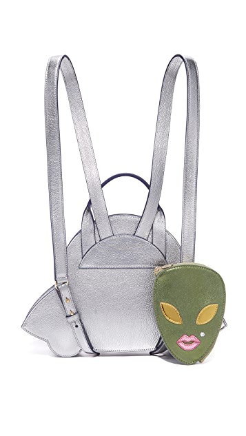 Charlotte Olympia Space Invader Backpack