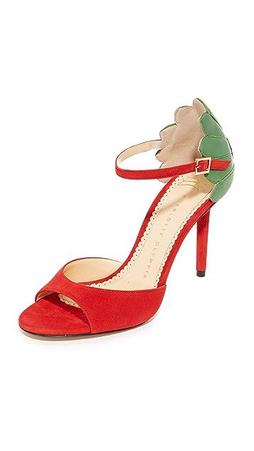 Charlotte Olympia Marge Leaf Sandals
