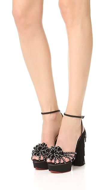 Charlotte Olympia Miss Cha Cha Platform Sandals
