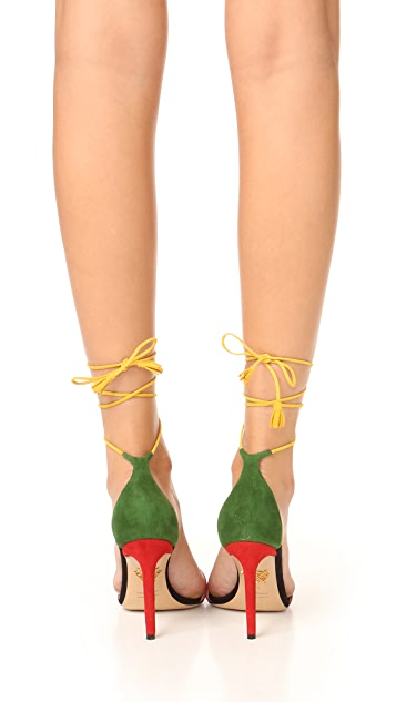 Charlotte Olympia Lets Dance Sandals