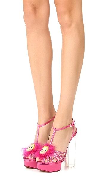 Charlotte Olympia Barbie Girl Platform Sandals