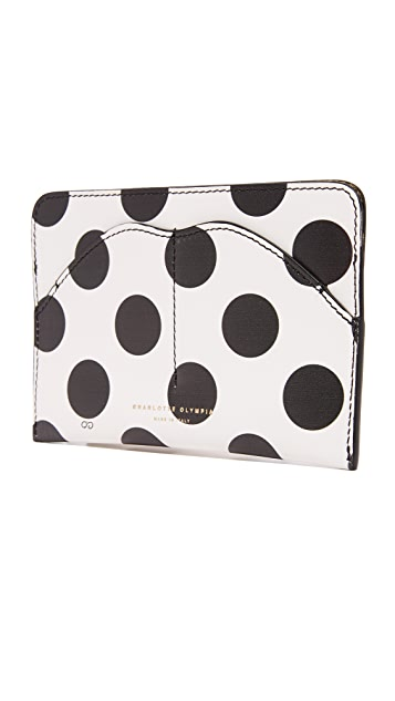 Charlotte Olympia Pouty Passport Holder