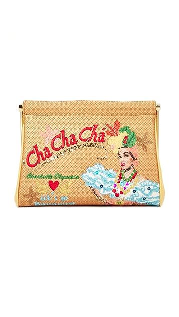 Charlotte Olympia Cha Cha Cha Maggie Clutch Bag