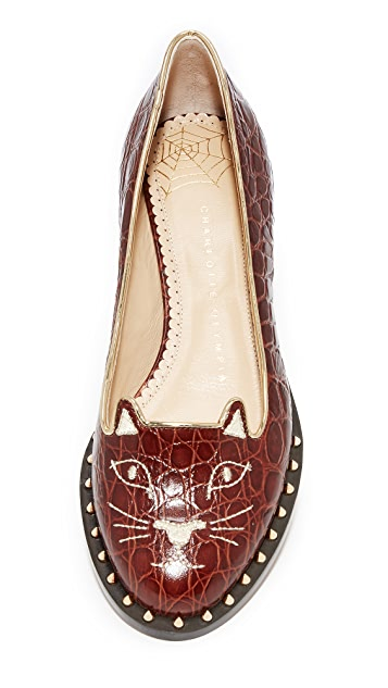 Charlotte Olympia Kitty Cat Flats