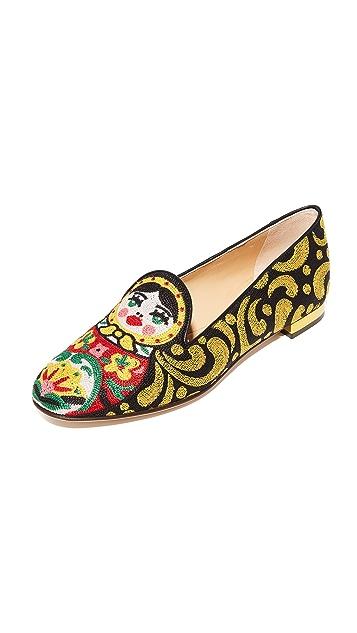 Charlotte Olympia Matrioska Slippers
