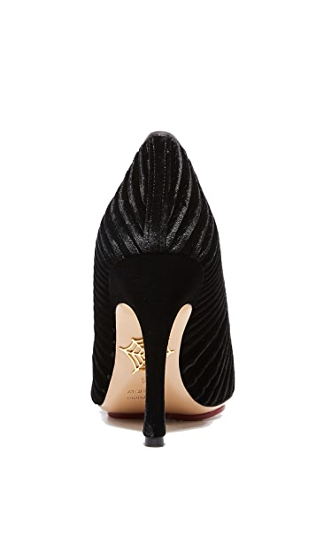 Charlotte Olympia Bacall Pumps